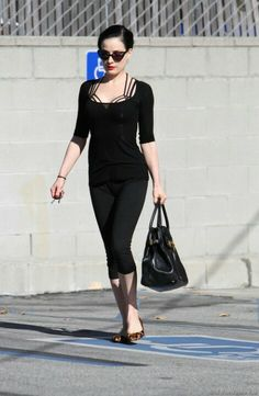 Actually, Dita makes me quote handicapped...well, even more so than I already am hehe