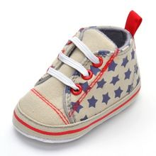 Primeros caminantes de la lona bebés de los zapatos estrella denim sneakers cochecito de niño del pesebre zapatos del estilo del otoño sapato de bebe menino zapatos chausurre(China (Mainland))