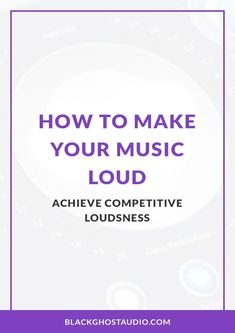 Learn how to produce songs that are competitively loud and playback seamlessly in DJ sets. Win the loudness wars. Behringer X32, Loudness, Audio Engineer, Music Production, Music Theory, Your Music, Electronic Music, Dj, Make It Yourself