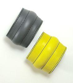 leather bracelet by birgitte aalten