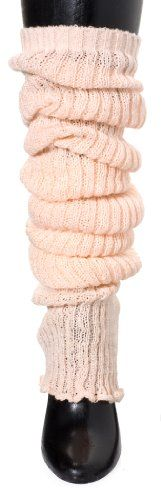 Peach Thigh Hi Leg Warmers by KD dance, Makers of the Finest Knit Dancewear in the World - Made in New York $24.95