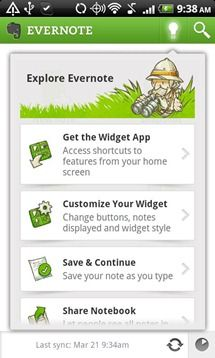 Evernote For Android Updated To Version 3.6, Brings Audio Notes, Larger Thumbnails, And Improved Widgets