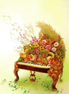 Coco 的美術館: 創造琉璃仙境的插畫師 Song, keum-Jin Illustrator from Korea
