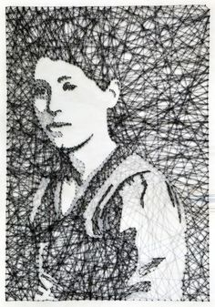 Thread and Nail Portrait 2 | Pamela Campagna