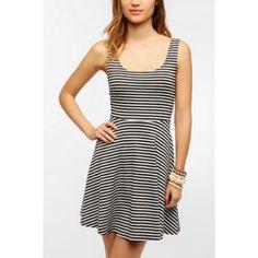 Urban Outfitters Stripe Skater Dress