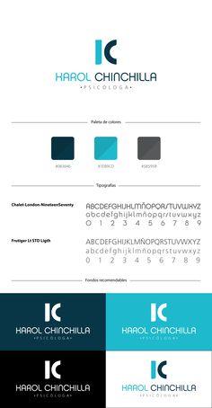 KAROL CHINCHILLA - Diseño de Isologotipo - Brand Board