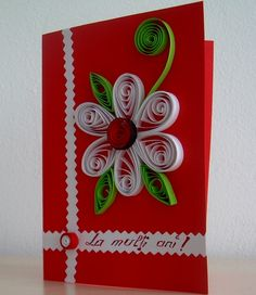 Paper Quilling for Kids Quilling may be the art of constructing photos, objects and merchandise from coils of paper which hav Quilling Flower Designs, Paper Quilling Cards, Paper Quilling Flowers, Quilling Paper Craft, Quilling Patterns, Paper Crafts, Paper Quilling For Beginners, Quilling Techniques, Quilling Christmas
