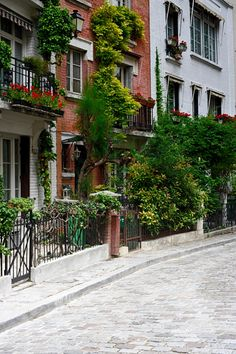 Villa Léandre - This quaint little street is a hidden gem in the very touristy Montmartre, and the ideal getaway from the crowd.