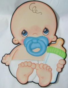 No idea what this link is, but it made me think of Stick the soother on the baby, instead of pin the tail on the donkey. Baby Shower Labels, Baby Shower Deco, Baby Shower Souvenirs, Baby Shower Themes, Baby Shawer, Baby Love, Moldes Para Baby Shower, Scrapbook Bebe, Baby Mini Album