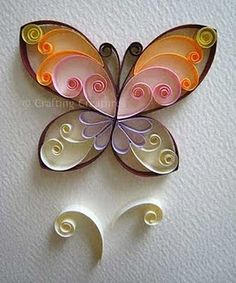 Butterfly #quiling