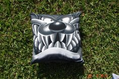 Throw Pillow Sham Cover made from Looney Toons Taz T-shirt. $20.00, via Etsy.