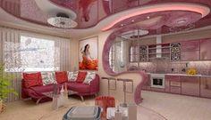 25 Gorgeous Kitchens Designs With Gypsum False Ceiling Ideas