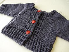 Just Hatched Cardigan by Anjali M - $4.00