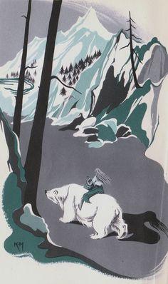 FROM  Scandinavian Legends And Folk-Tales 1956 by GWYN JONES (Author), Joan Kiddell-Monroe (Illustrator)