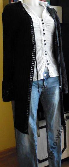 Sweter Damski czarny rozmiar 44