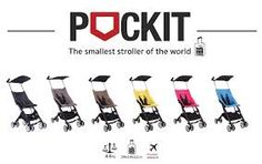 GB Pockit Stroller – the Stroller with the Smallest Fold EVER! Comes out Spring 2016.....NEED