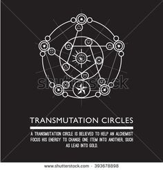 Transmutation circles - alchemical symbol - sacred geometry - can be used in your design - the art of tattooing - the design of logos - corporate identity - as a poster or a badge. Alchemy Symbols, Magic Symbols, Sacred Symbols, Ancient Symbols, Sacred Art, Sacred Geometry Meanings, Sacred Geometry Tattoo, Necronomicon Lovecraft, Transmutation