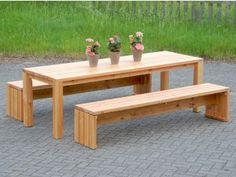 Gartentisch Holz 3