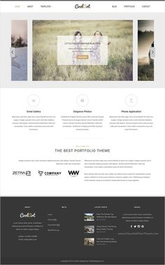 Coolart is a beautifully #design clean and modern #WordPress theme for #photography, portfolio and gallery website download now➯ https://themeforest.net/item/coolart-portfolio-and-photography-wordpress-theme/11678970?ref=Datasata