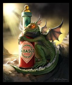 Baby Dragon - Tabasco by ~jwohland on deviantART