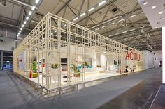 Orgatec welcomes Cool Working in the trade fair's largest edition ever #Actiu #Orgatec #office #furniture