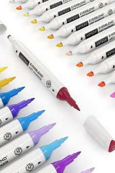 Arteza Art Markers are designed for novice to professional artists, crafters, or anyone who just enjoys creating with color. With premium alcohol-based to water-based marker sets, you'll find just the right pens for your design art, fashion sketches, manga, architecture, portraits, school work, coloring, and more.