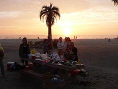 Beach BBQ Wedding