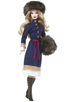 2010 Russia Barbie®   Barbie Dolls of the World Collection *DOLLS OF THE WORLD