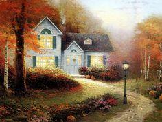 Home Is Where the Heart Is 01  Thomas Kinkaid