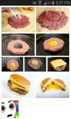 Great idea for burger on sw bar the bun