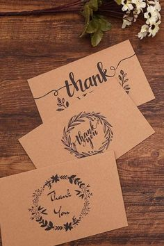 This bulk set of Floral Thank You card Notes are made from kraft paper and are a perfect idea to express gratitude and thanks to your guests for taking a part in your wedding, engagement party, hen party or bridal shower. Those rustic style thank you   Cards are great for adding to your wedding favors gift for guests especially at an outdoor, barn, farm, country, western fall wedding party. Features 6 different designs of stickers you can DIY and paste to the kraft paper cards. Wedding Invitations With Pictures, Creative Wedding Invitations, Country Wedding Invitations, Printable Wedding Invitations, Wedding Favors, Diy Wedding Decorations, Wedding Invitation Design, Wedding Stationery, Fall Engagement Parties