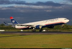 US Airways Airbus aircraft picture Us Airways, Commercial Aircraft, Aircraft Pictures, Air Travel, Airports, Spacecraft, Military Aircraft, Pilots, Airplane