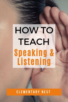 Learn more about how to implement speaking and listening activities in your classroom to encourage your student to listen to each other and also address key common core speaking and listening standards. Listening Activities, Active Listening, Listening Skills, Student Teaching, Teaching Ideas, Common Core Ela, Guided Practice, Character And Setting, Different Words
