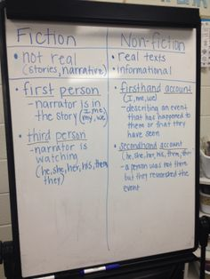 Firsthand vs secondhand accounts | My anchor charts | Pinterest ...