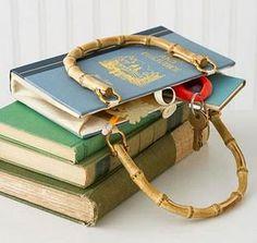 video paso a paso como hacer una cartera con pasta de libros. diseños y modelos de carteras con pasta de libros.