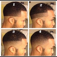 22 Ideas For Haircut Fade Curly Mens Cuts Trendy Mens Haircuts, Black Men Haircuts, Black Men Hairstyles, Cool Hairstyles For Men, Fade Haircut Styles, Tapered Haircut, Hair And Beard Styles, Self Haircut, Haircut Men
