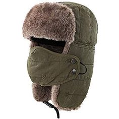 online shopping for Connectyle Warm Trapper Hat Windproof Winter Russian Hats Mask Ushanka Hat from top store. See new offer for Connectyle Warm Trapper Hat Windproof Winter Russian Hats Mask Ushanka Hat Black Ankle Boots, High Leather Boots, Style Russe, Russian Hat, Cold Weather Gear, Aviator Hat, Hunting Hat, Trapper Hats, Mermaid Tails