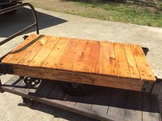 Nutting Truck Co Cart will be at Antique Crossroads soon.