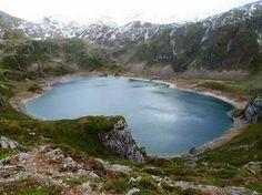 Lagos de saliencia,  somiedo. Asturias