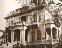 10 Casarões da Avenida Paulista para matar saudades: Residência de Nagib Salem – 1920, projeto da empresa Malta & Guedes: