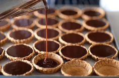 forget the cupcakes: over-saturated market. Tarts & tartlets = sophisticated and not too over-done.