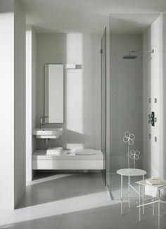 kleines bad fliesen helle fliesen lassen ihr bad gr er erscheinen interior pinterest. Black Bedroom Furniture Sets. Home Design Ideas