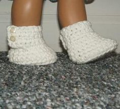 "Cute Crochet Pattern for American Girl and similar 18"" dolls.  Instructions available free."