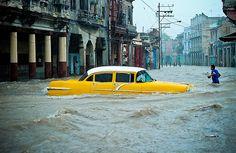 Noodweer in Cuba