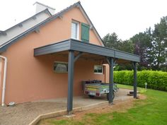Garages, Deck, Pergola, Construction, Outdoor Decor, House, Car, Home Decor, Gardens