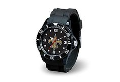 NFL New Orleans Saints Spirit Watch, Black - Never leave home without team spirit with Rico Tag's Spirit Watch. This team licensed watch is made of a supple rubber sports strap with sports buckle with an acrylic case lens. Composite case ratcheting sport elapsed time bezel with team color dial feature silver time and fluorescent... - http://ehowsuperstore.com/bestbrandsales/watches/nfl-new-orleans-saints-spirit-watch-black