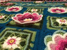 Lily Pond #crochet #Blanket