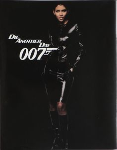 JAMES BOND - DIE ANOTHER DAY -Japanese movie program back cover