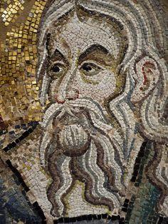 Byzantine Mosaic Roman History, Art History, Ancient Romans, Ancient Art, Byzantine Art, Byzantine Mosaics, Mosaic Portrait, Mosaic Tile Art, Mosaic Patterns