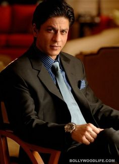 Shah Rukh Khan - a suave, distinguished man of charm, strength and dignity... *melt*